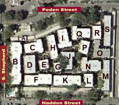 River Oaks Gardens Aerial Map